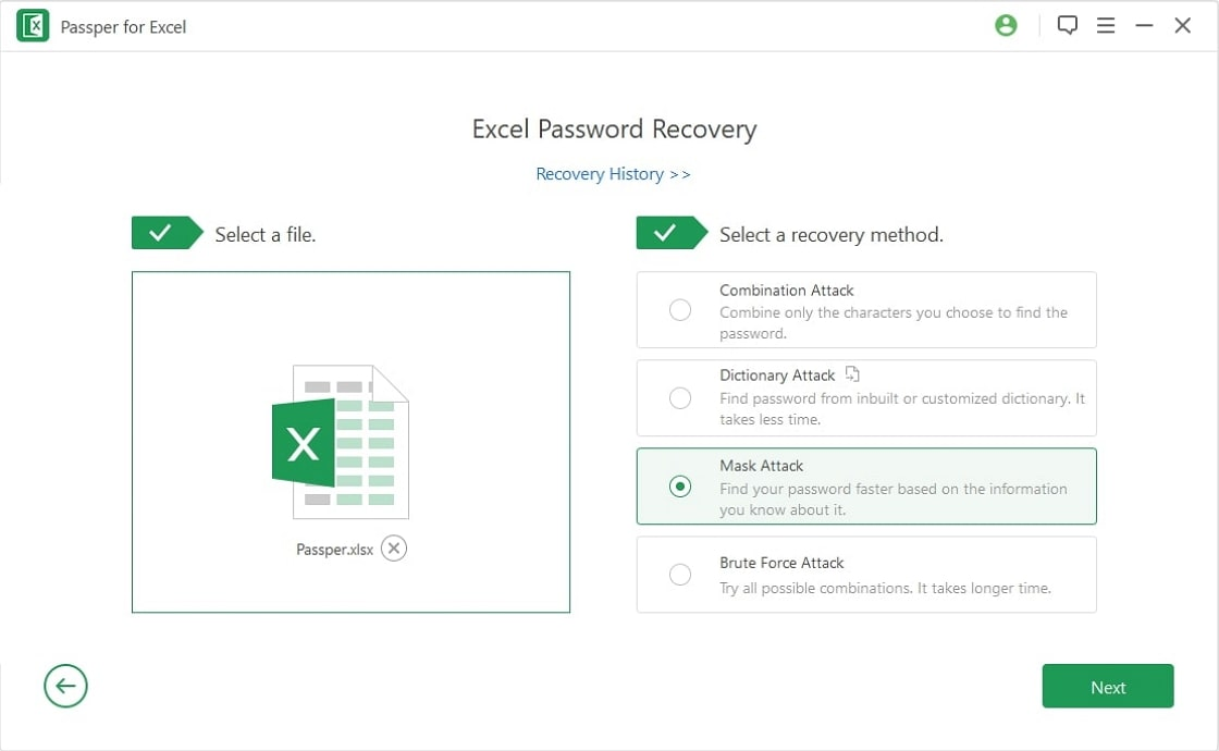 recover password step2