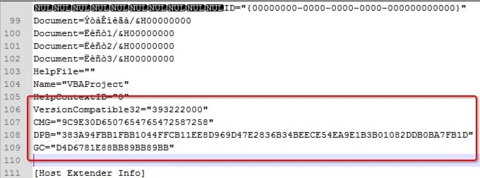 copy code from hex editor