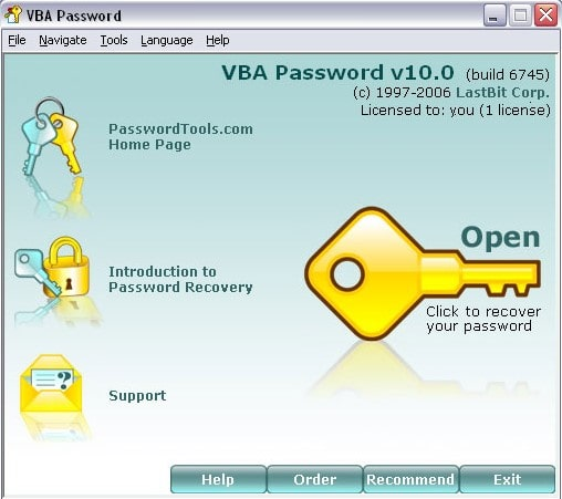 lastbit vba password recovery