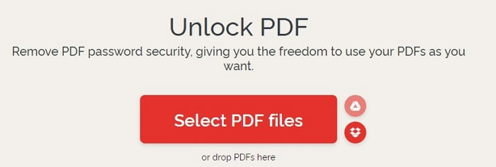 Use Ilovepdf to unlock PDF for editing