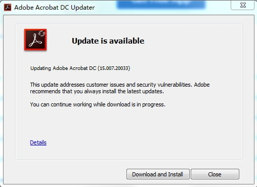 update adobe acrobat