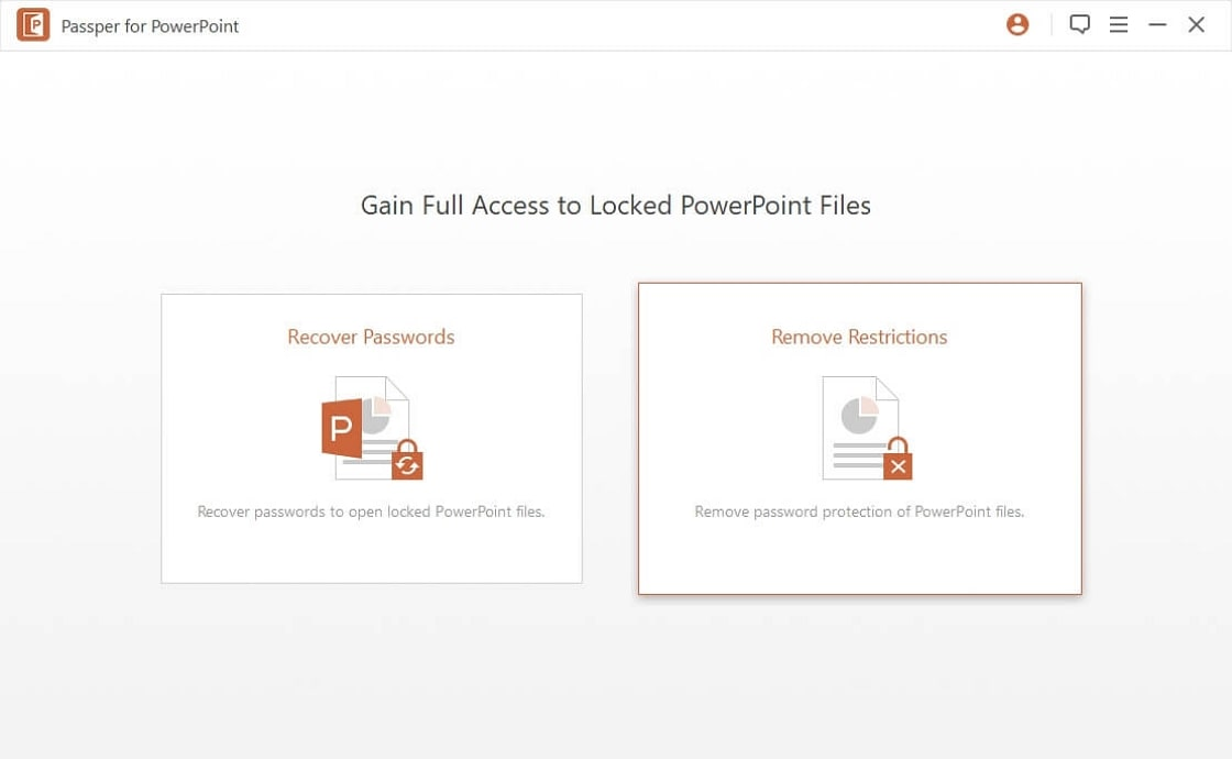 remove restrictions from powerpoint