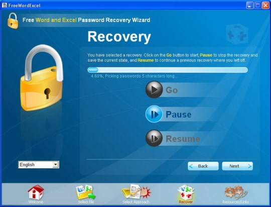 excel word password recovery wizard