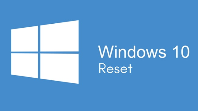 factory reset windows 10 without password