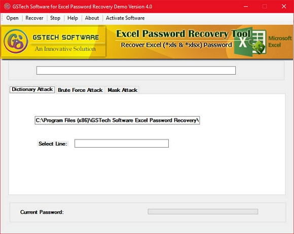 gstech excel 2010 password remover