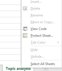 how to tell if workbook is protected