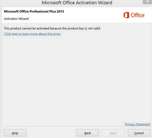 microsoft office 2013 activation key