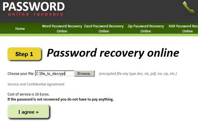 recover forgotten excel password online