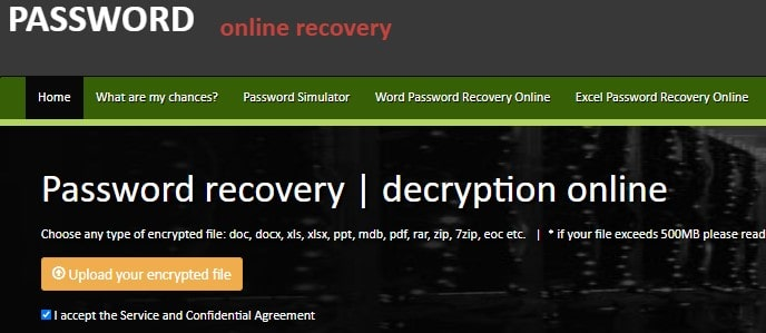 crack excel password without software online