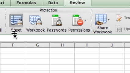 protect workbook mac