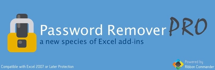 remove excel password pro