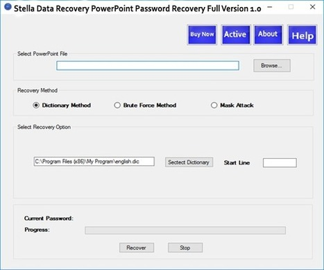 stella powerpoint password recovery