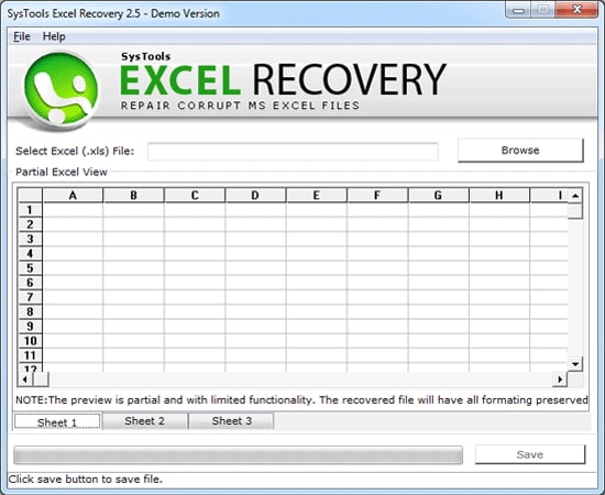 systools excel password recovery