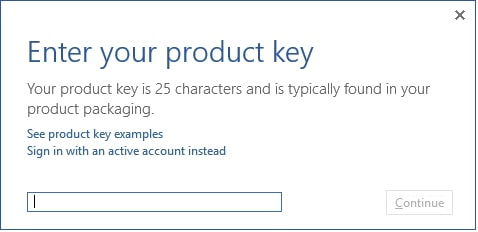 what is office product key