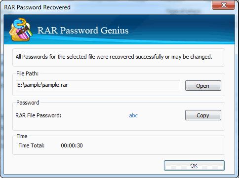 rar password recovery genius