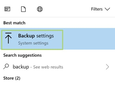 backup all your files