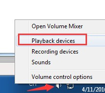 playback device