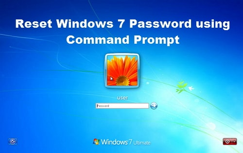 reset windows 7 password using command prompt