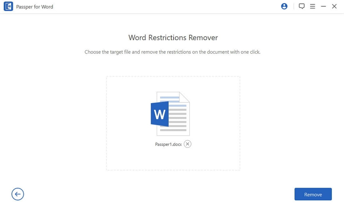 remove word restrictions