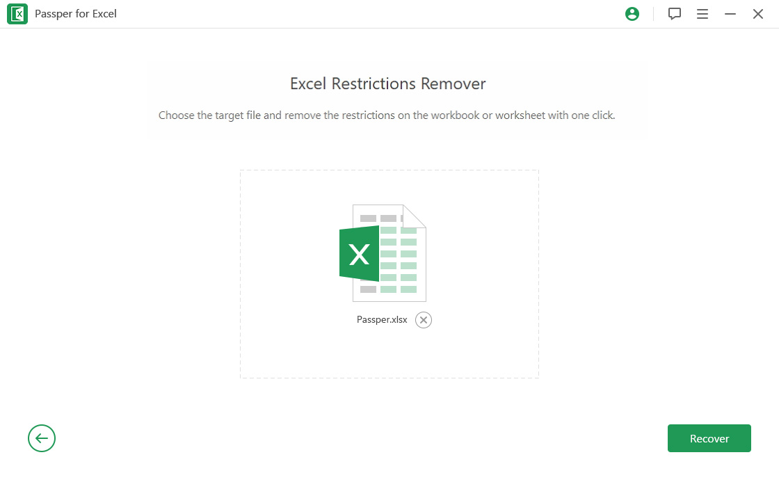 Passper for Excel - Best Excel Password Recovery for Excel Document