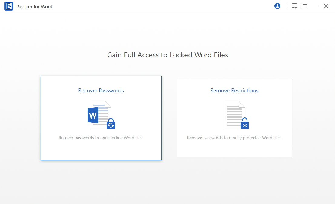 lost password for word document